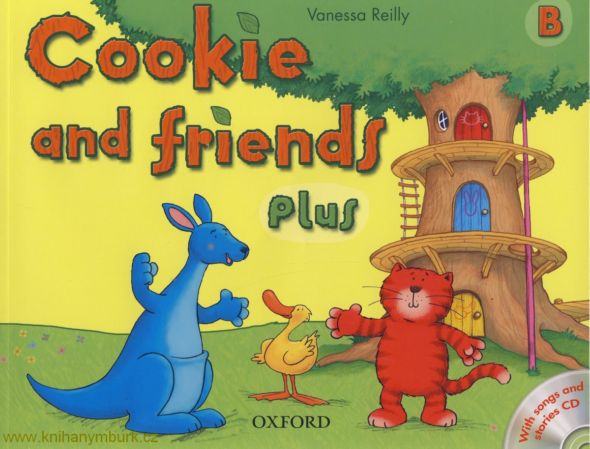 Cookie and friends B with songs CD