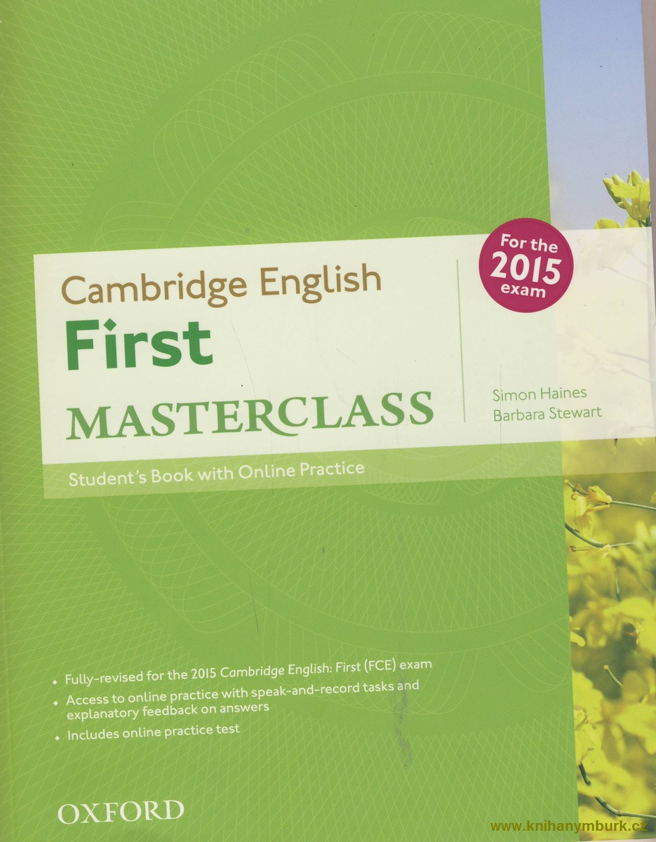 Cambridge English First Masterclass SB