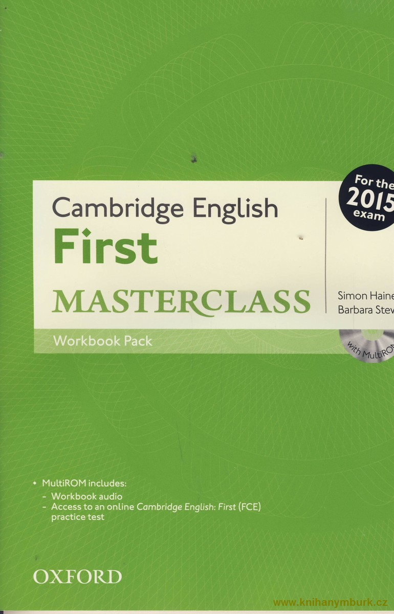 Cambridge English First Masterclass WB Pack