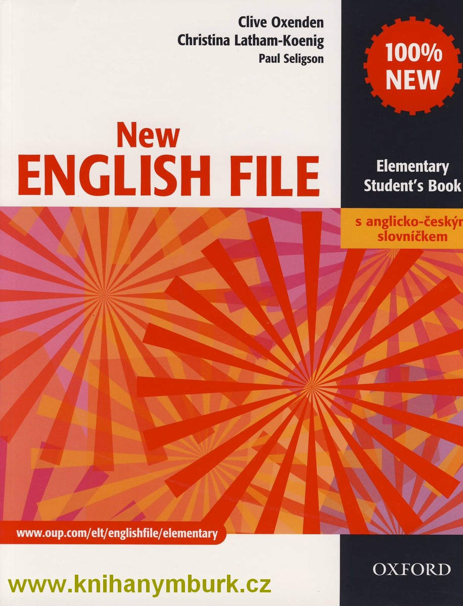New English File Elementary SB s A-Č slovníčkem