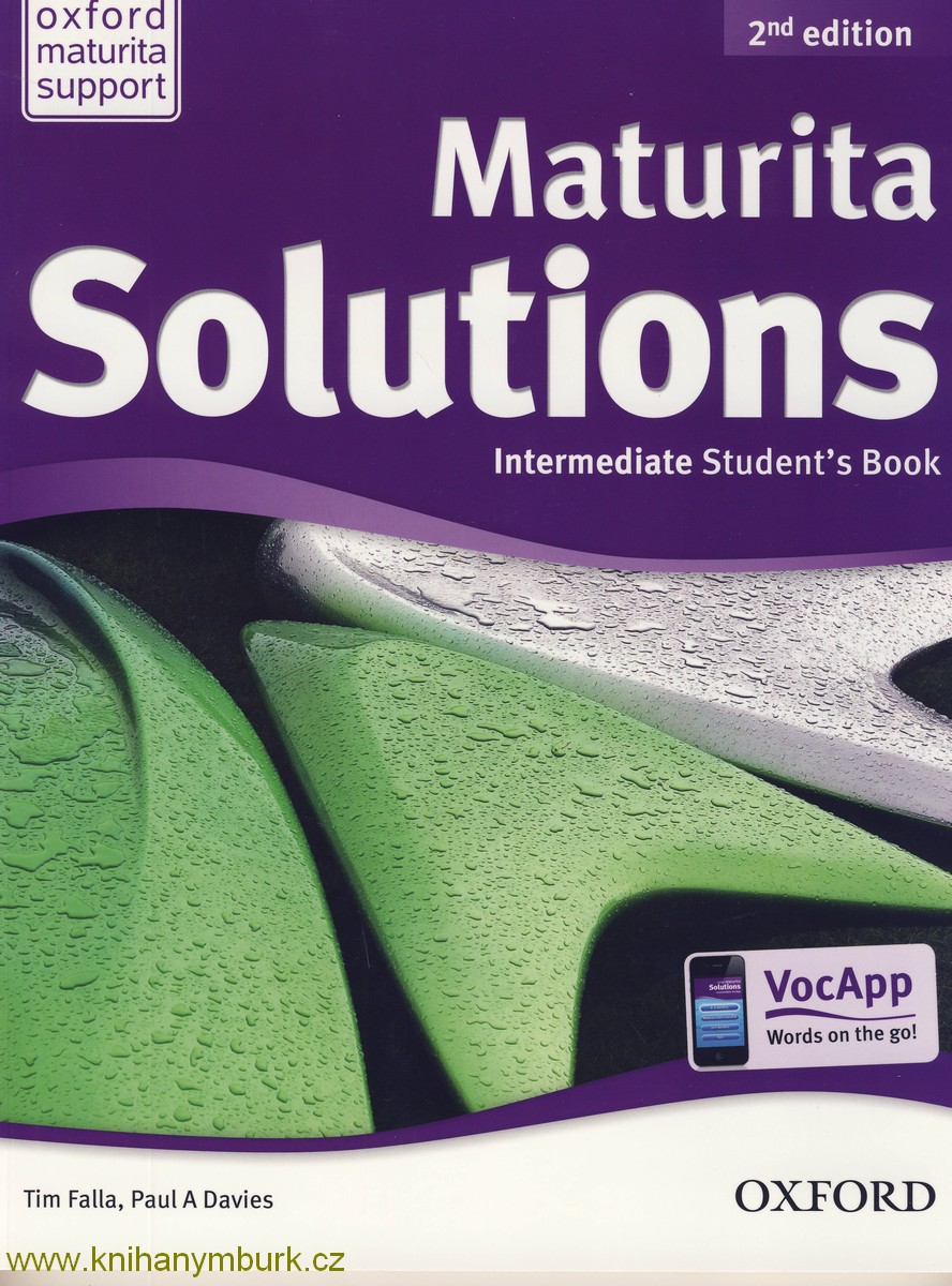 Maturita Solutions2nd Ed.Intermediate SB Czech Ed.