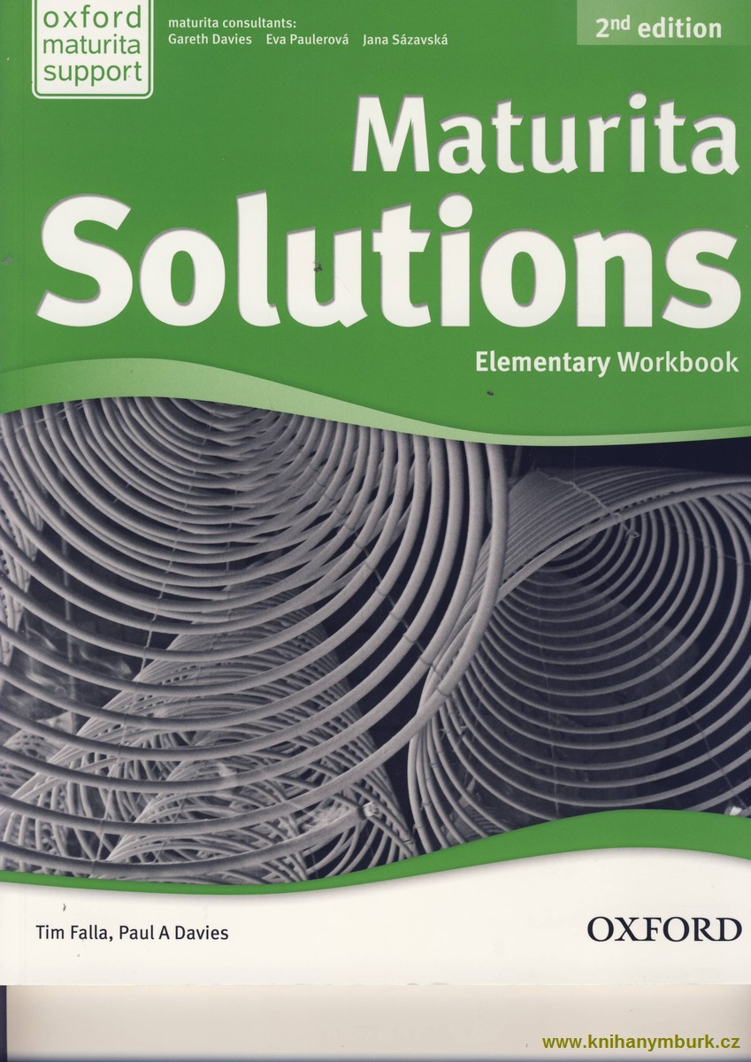 Maturita Solutions 2nd Edition Elementary  WB Czech Edition