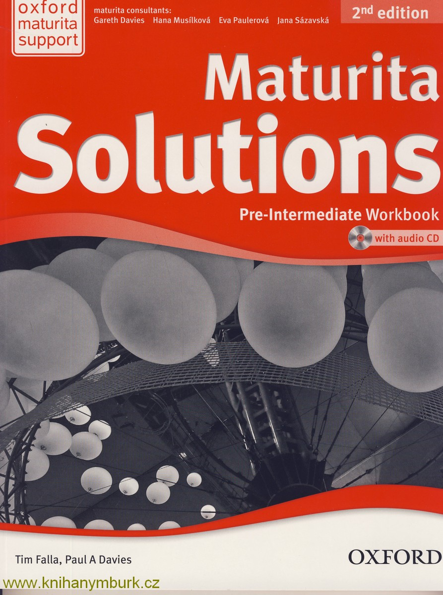 Maturita solutions 2nd Edition Pre-Intermediate WB Czech with audio CD