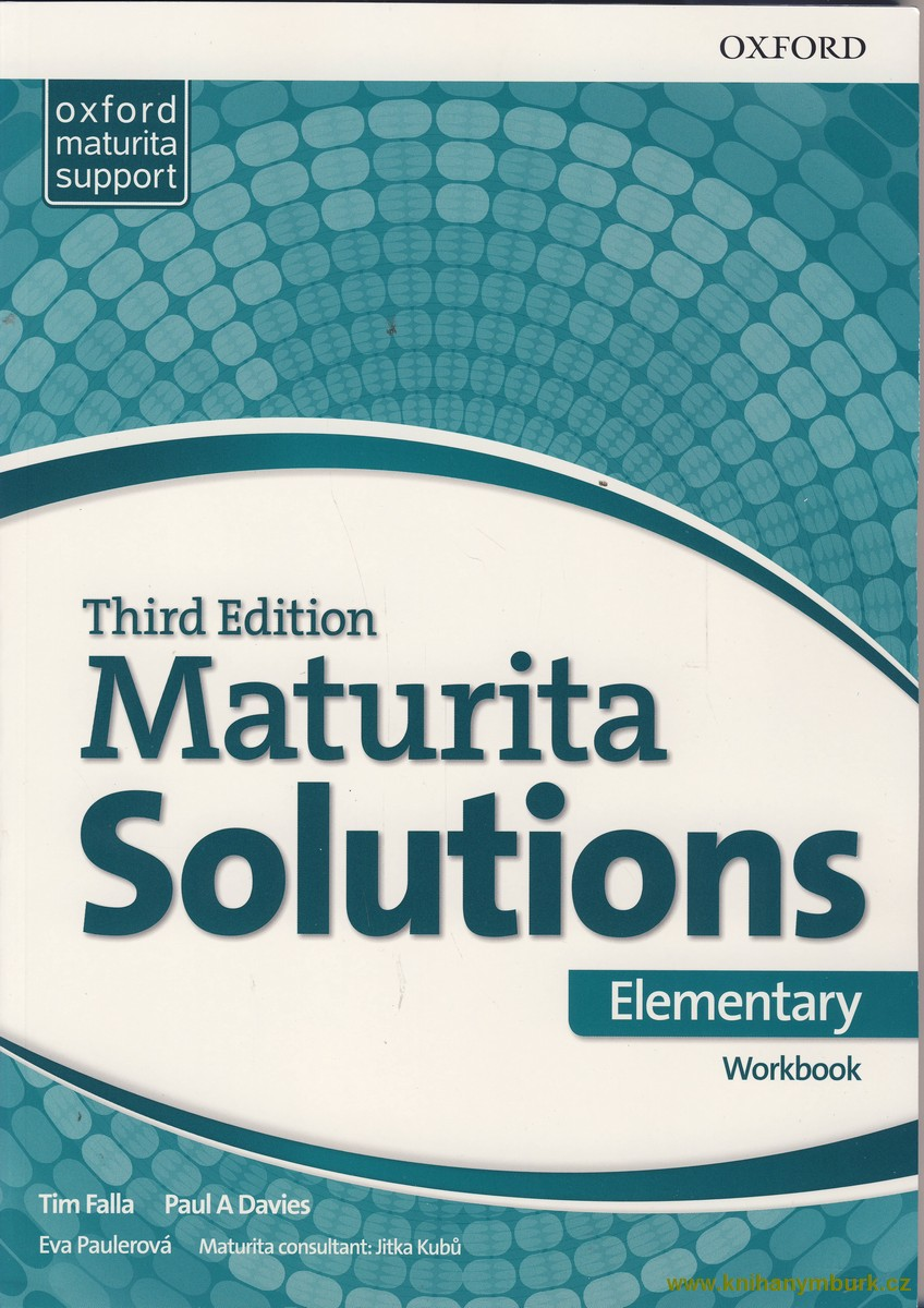 Maturita Solutions 3rd Edition Elementary WB Czech Edition