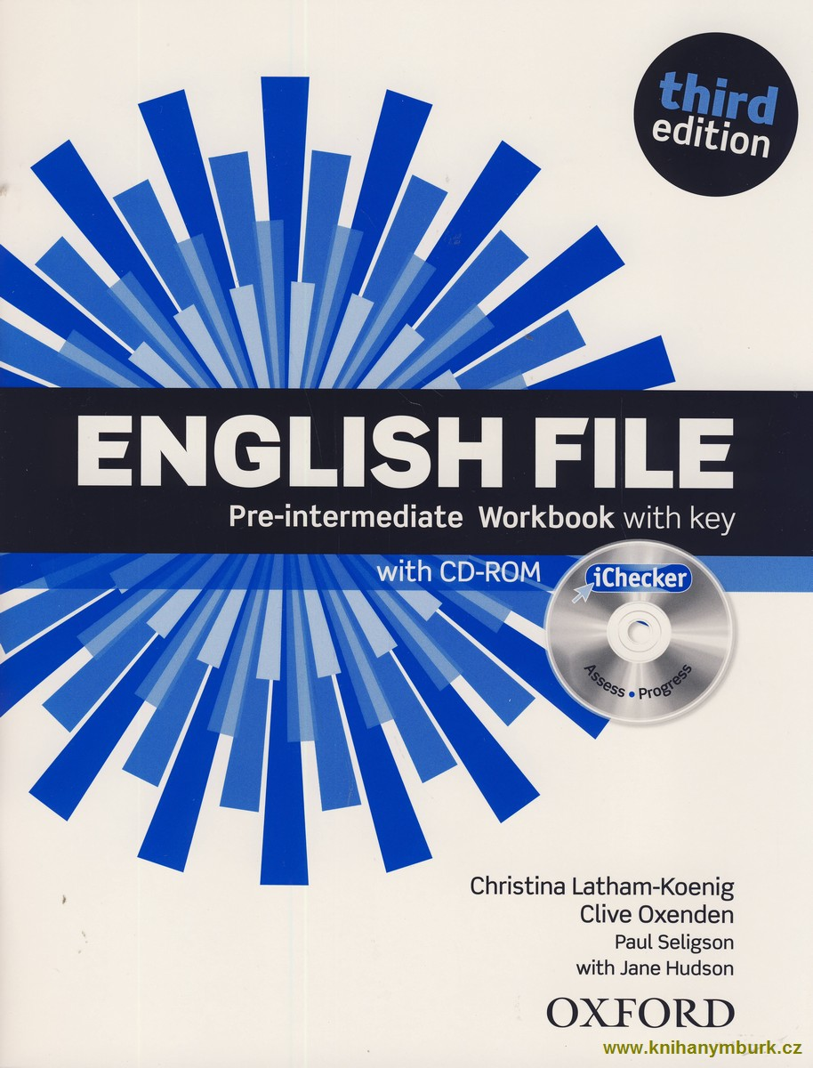 English File Third Edition Pre-intermediate WB with key, with CD-ROM