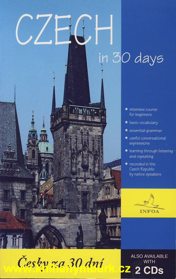 Czech in 30 days - kniha bez CD