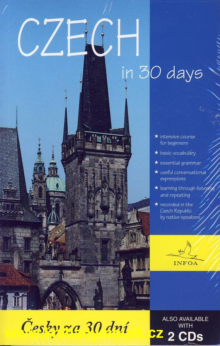Czech in 30 days - kniha +2 CD