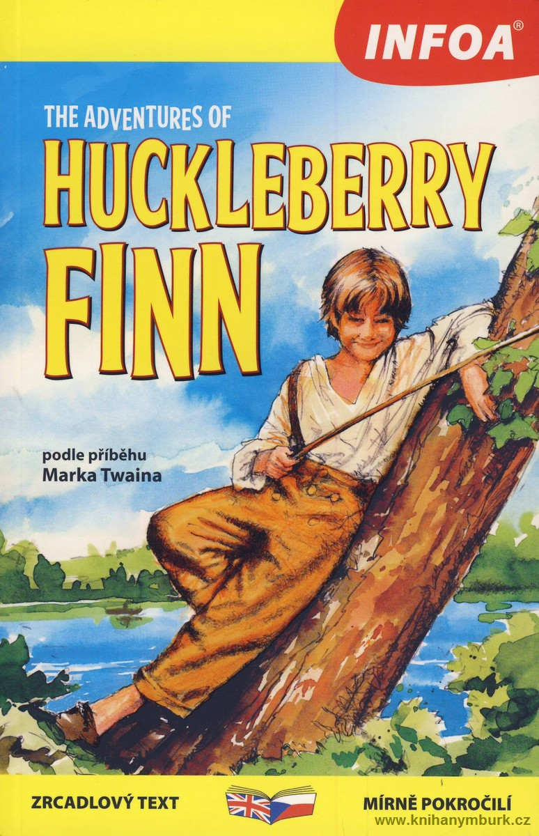 The Adventures of Huckleberry Finn zrcadlová četba